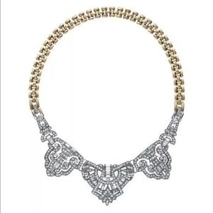 NWT Crystal Convertable statement necklace
